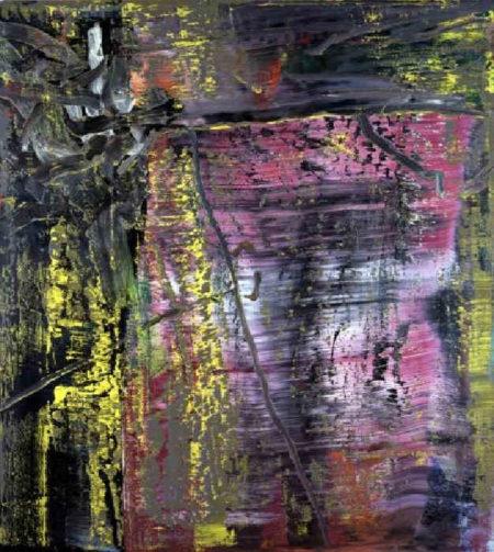 Gerhard Richter-Abstraktes Bild 600-1 (Violett) / Abstract Painting 600-1 (Violet)-1986