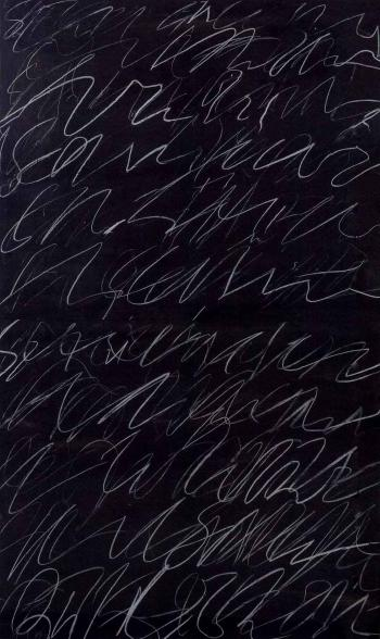 Cy Twombly-Roman Notes-1970