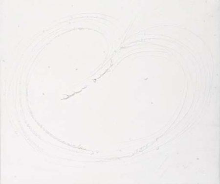 Lucio Fontana-Conectto spaziale-1966