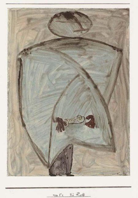 Paul Klee-Die Rolle-1930