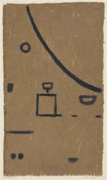 Paul Klee-Nacktes Bild-1938