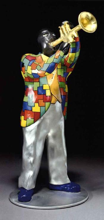 Niki de Saint Phalle-Louis Armstrong-1999