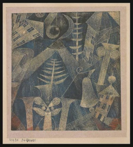 Paul Klee-Die Glocke! (The Bell!)-1919