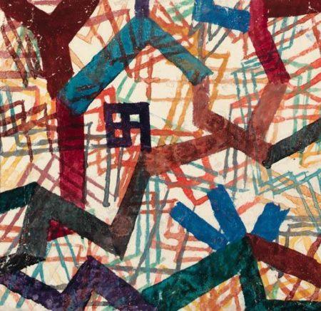 Paul Klee-Plan Zu Einem Haus-1917