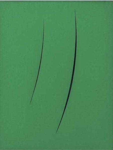 Lucio Fontana-Concetto Spazale, Attese 1+1-3A3-1951