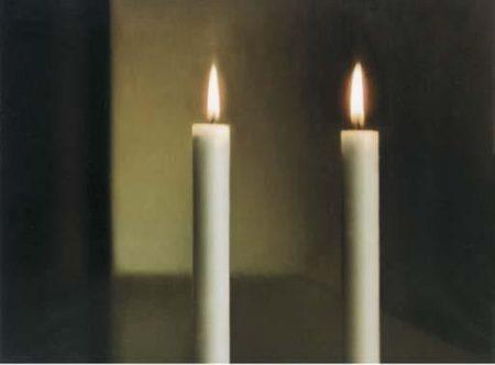 Gerhard Richter-Zwei Kerzen (Two Candles)-1990