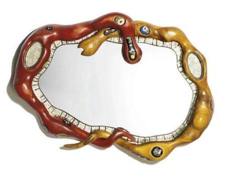 Niki de Saint Phalle-Snake Mirror-1998