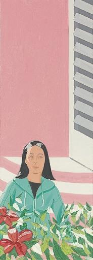 Alex Katz-Ada in Eleuthera-1986