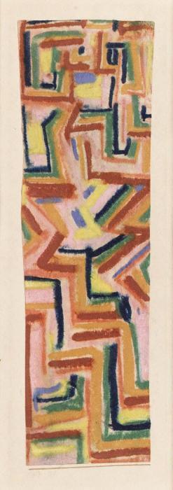 Paul Klee-Teppich (Carpet)-1917