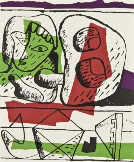 Le Corbusier-Entre deux or Propos toujours relies-1964
