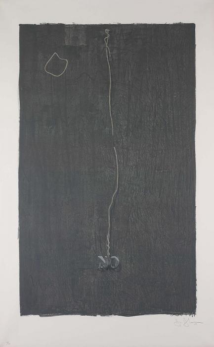Jasper Johns-No (Universal Limited Art Editions 71)-1969