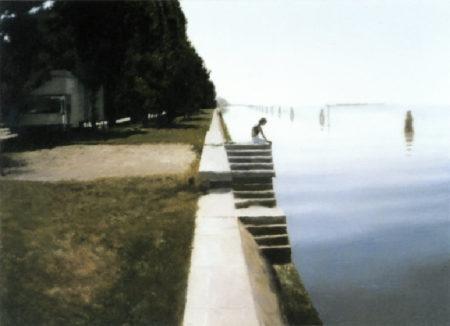 Gerhard Richter-Venedig (Treppe) / Venice (Staircase)-1985