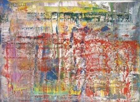 Gerhard Richter-Abstraktes Bild 724-4 (Abstract Painting 724-4)-1990