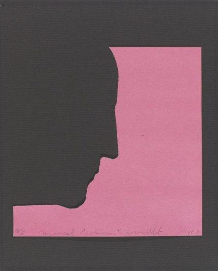 Marcel Duchamp-Self-Portrait in Profile-1957