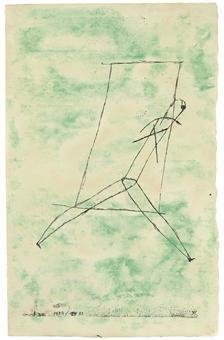 Paul Klee-Austritt (K. 91)-1923