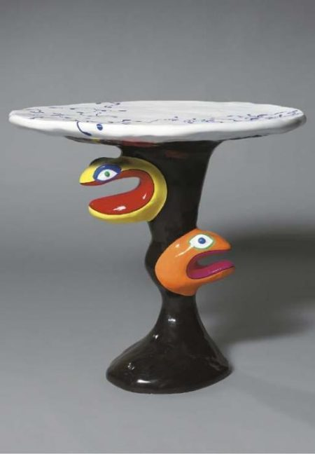 Niki de Saint Phalle-Table serpent-1980