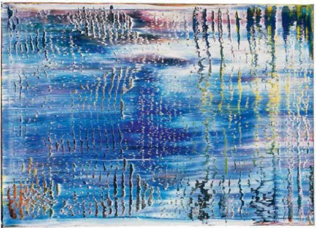 Gerhard Richter-Abstraktes Bild 829-5 (Abstract Painting 829-5)-1995