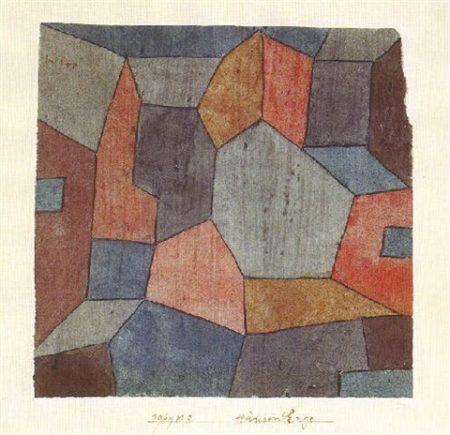 Paul Klee-Hauser-Enge-1939