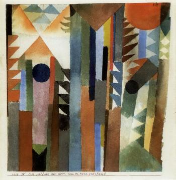 Paul Klee-Der Wald Der Aus Dem Samenkorn Entstand-1915