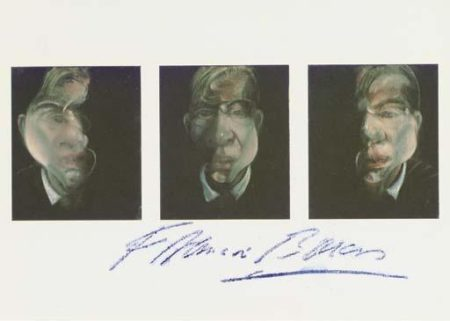 Francis Bacon-Studies for a Self Portrait-1990