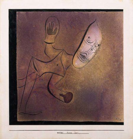 Paul Klee-Brutaler Pierrot-1927