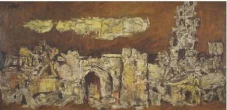 Maqbool Fida Husain-Untitled-1964