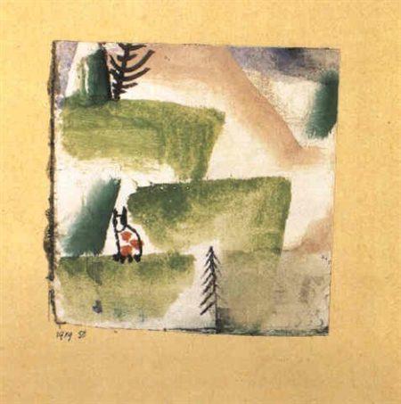 Paul Klee-Revier Eines Katers-1919