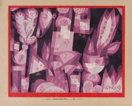 Paul Klee-West-Ostliche Flora-1921