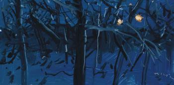 Alex Katz-Study for City Landscape-1994
