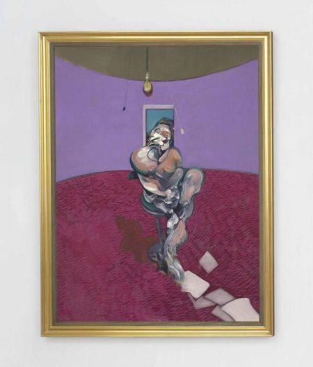 Francis Bacon-Portrait of George Dyer Talking-1966
