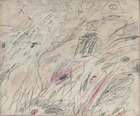 Cy Twombly-Untitled (Rome)-1960