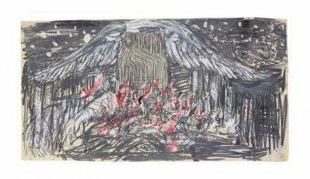 Anselm Kiefer-Brunhildes Seele (Brunhilde's Soul)-1978