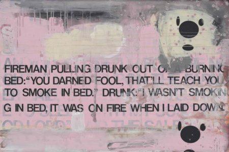 Richard Prince-Untitled (Fireman And Drunk)-2001