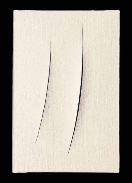 Lucio Fontana-Concetto spaziale, Attese-1962