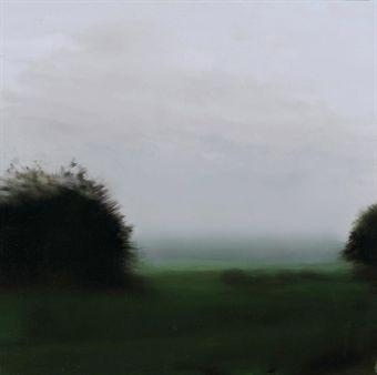 Gerhard Richter-Two Trees (Zwei Baume)-1987