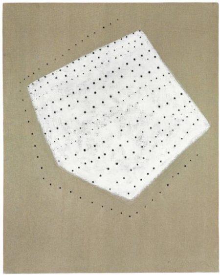Lucio Fontana-Concetto spaziale-1954
