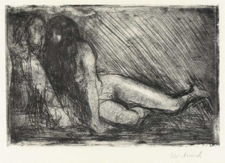 Edvard Munch-Geheimnis / Secret (Woll 436)-1913