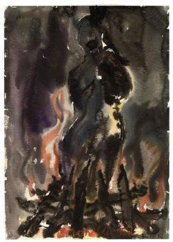 Anselm Kiefer-Brunhildes Tod-1976