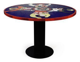 Niki de Saint Phalle-Table aux quatre nanas-1994