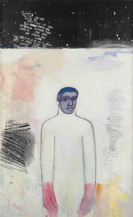 Richard Prince-Untitled (Portrait)-1997