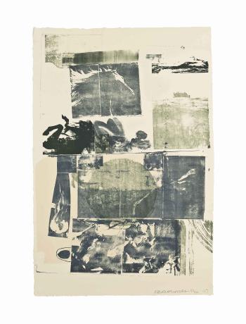 Robert Rauschenberg-Robert Rauschenberg - Epic from: Romances-1977