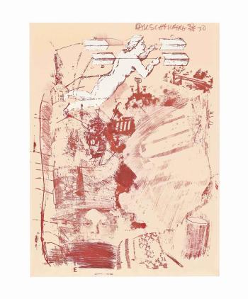 Robert Rauschenberg-Robert Rauschenberg - Score (From Stoned Moon Series)-1970