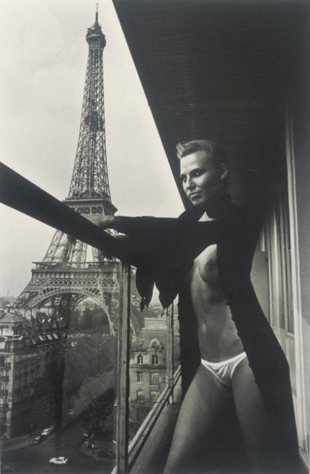 Helmut Newton-On the 10th floor of the Hilton, Paris-1976