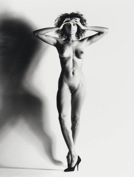 Helmut Newton-Big Nude XV, Nice-1993