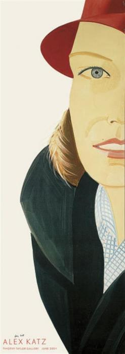 Alex Katz-Alex Katz Tim Taylor Gallery Exhibition-2004