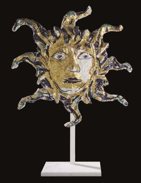 Lucio Fontana-Testa di Medusa-1954