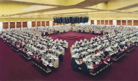 Andreas Gursky-Hong Kong Borse II-1995