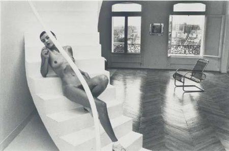 Helmut Newton-Jenny In My Studio (1978)-1978