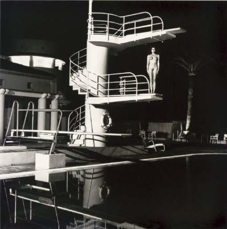 Helmut Newton-Diving Tower (1984)-1981