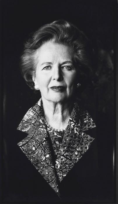Helmut Newton-Portrait of Margaret Thatcher, Anaheim, California-1991